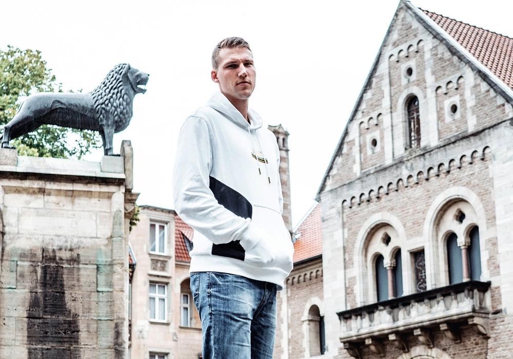 Lukas Meisner, Neuzugang für die Löwen.