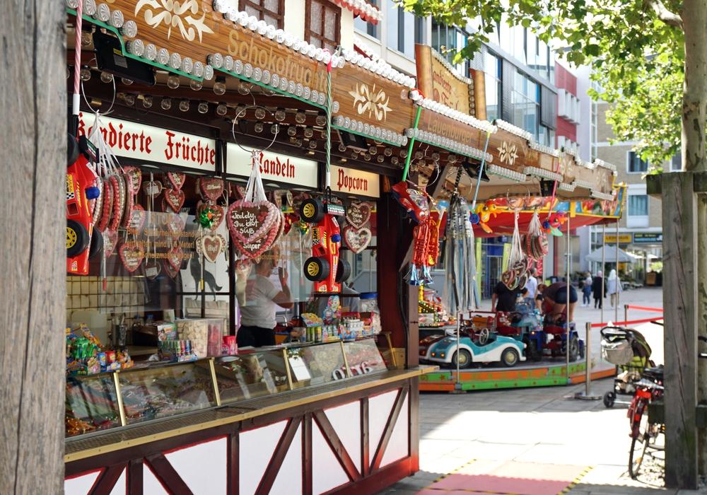 Der Sommer-Jahrmarkt in Wolfsburg.