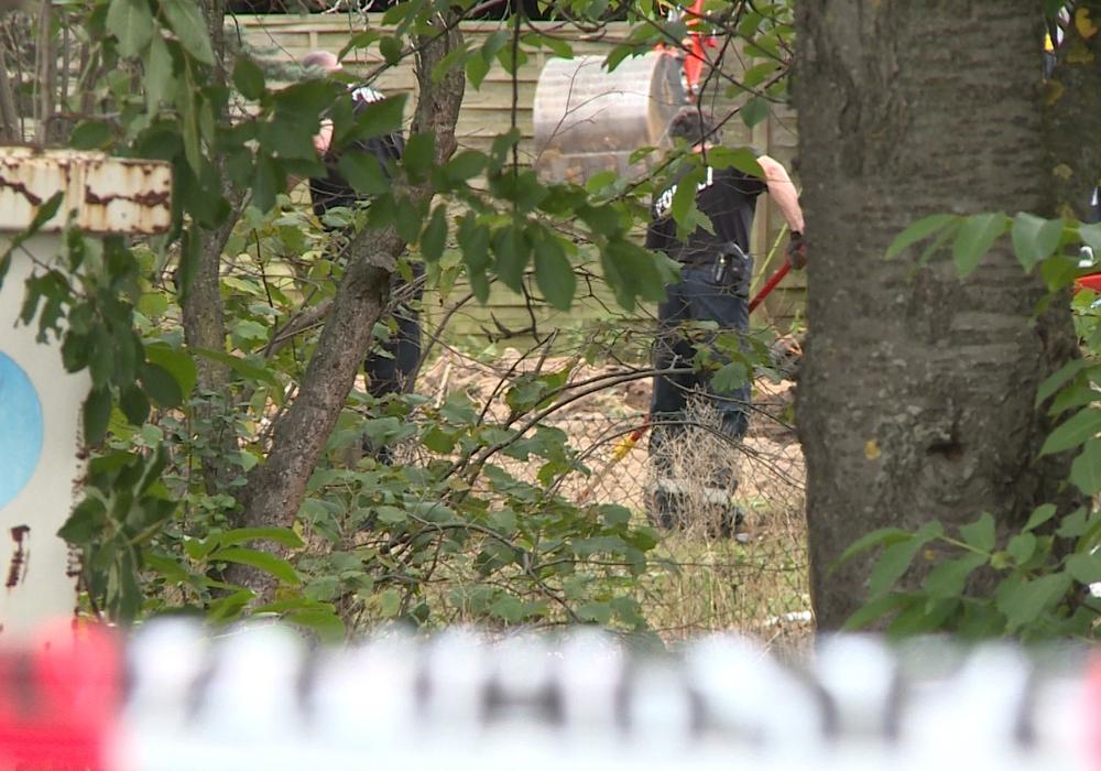 Zwei Tage lang wurde eine Kleingartenparzelle in der Region Hannover durchsucht.