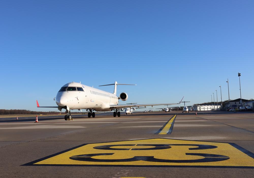 Auf dem östlichen Teil des Flughafens werden die Maschinen des Baumusters A320 von August an geparkt.