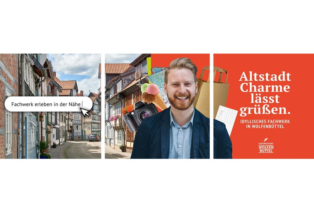 Die Stadt Wolfenbüttel wirbt um Touristen.