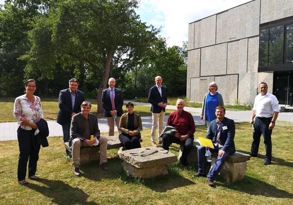 Die CDU-Abgeordnetengruppe besuchte die HAB.