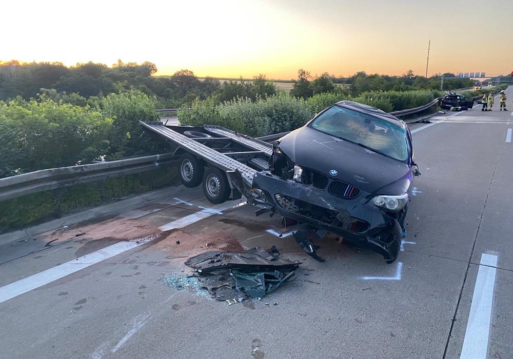 Auf der A2 kam es in der vergangenen Nacht zu einem schweren Unfall