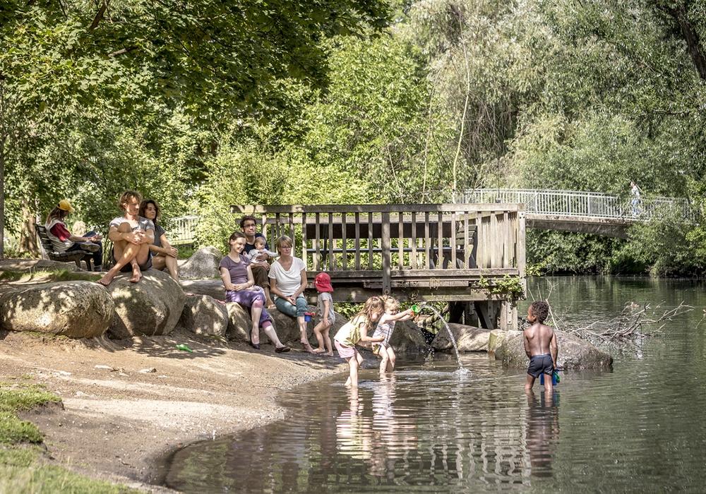 An warmen Sommertagen darf ein Ausflug an Braunschweigs Gewässer nicht fehlen.