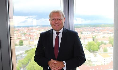 Jürgen Brinkmann, Vorstandsvorsitzender der Volksbank BraWo.