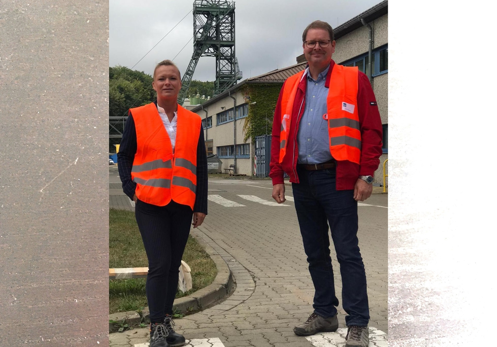 Dunja Kreiser (links) und Marcus Bosse.