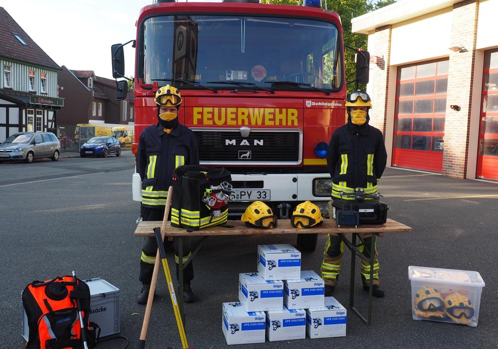 Das neue Sondergerät der Feuerwehr Bad Harzburg.