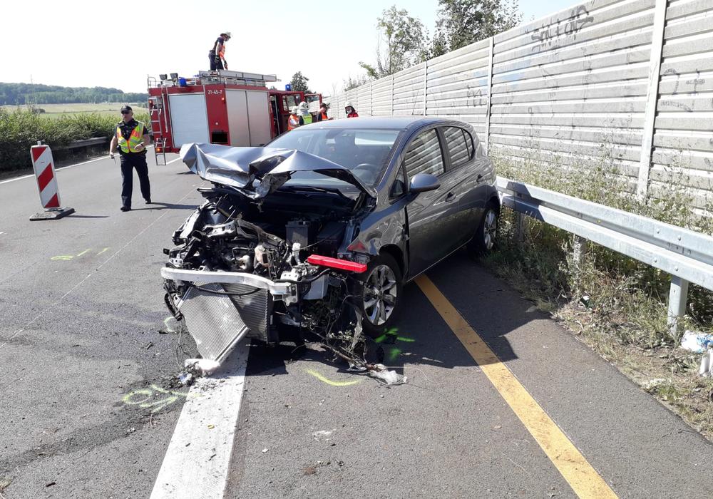 Auf der A36 ereignete sich heute nahe der Ausfahrt Wolfenbüttel-West ein Unfall.