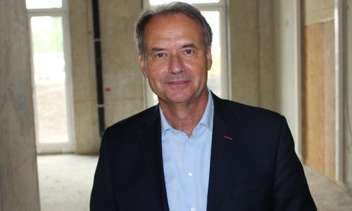 Oberbürgermeister Ulrich Markurth nimmt nach sieben Jahren im Amt seinen Hut.