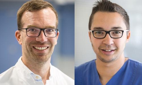 Die Experten: PD Dr. Thomas Bitter, Chefarzt der Pneumologie und Beatmungsmedizin Tarik Baddouh, Atmungstherapeut (DGP) und Fachkraft für Anästhesie- und Intensivpflege.
