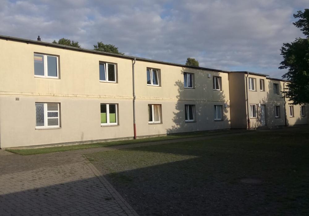 Die Obdachlosenunterkunft in der Salzdahlumer Straße.
