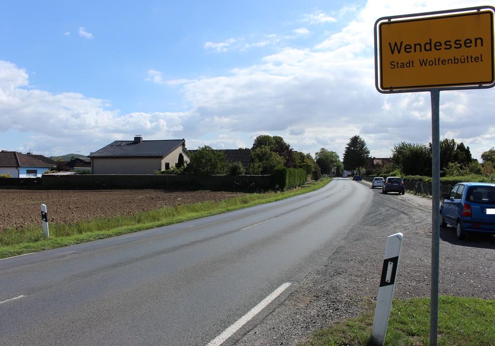 Um diese Straße in Wendessen geht es.