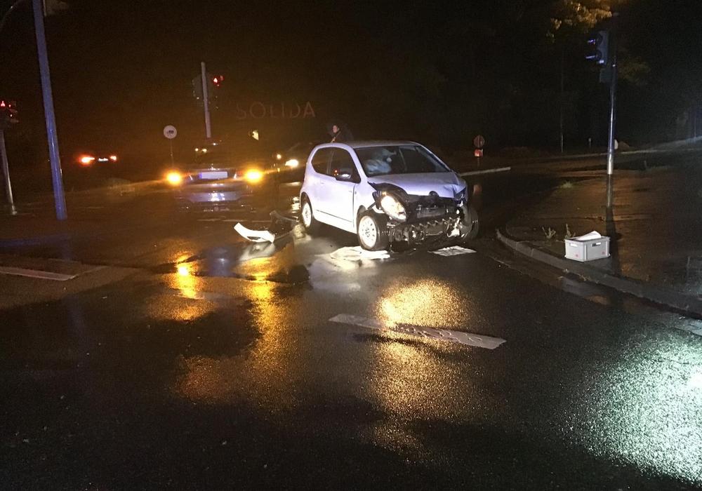 Verkehrsunfall am Konrad-Adenauer-Platz.