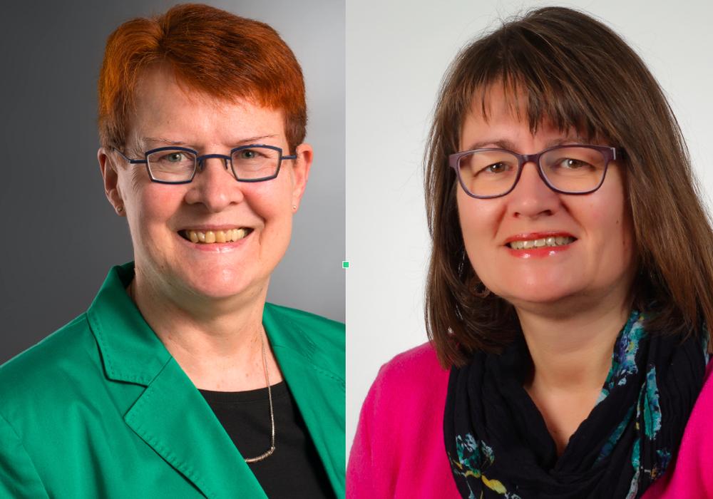 SPD-Fraktionsvorsitzende Dr. Christa Westphal-Schmidtund Iris Schubert (SPD)