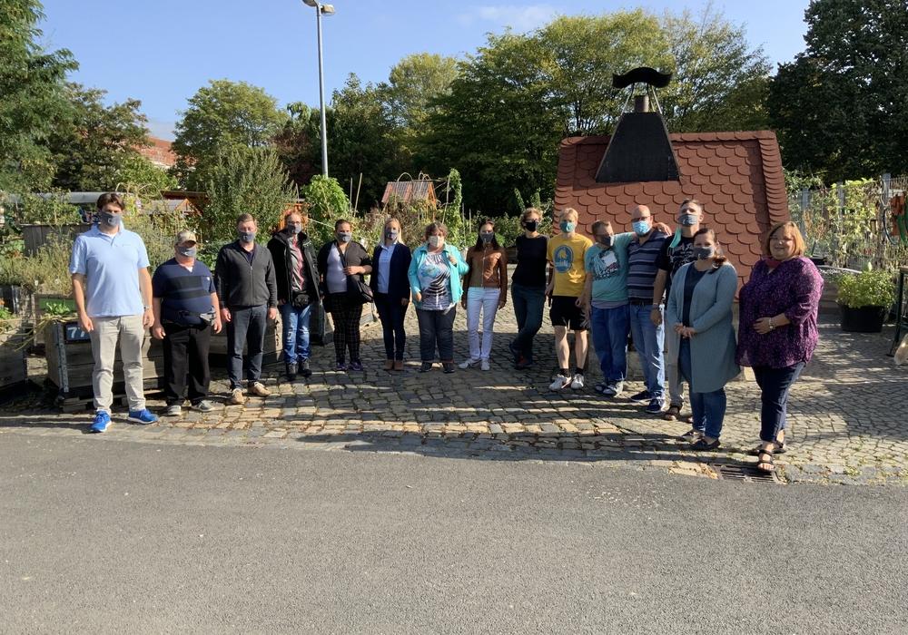 Die Teilnehmer waren begeistert vom urban gardening und von der gemeinsamen Pizzaback-Aktion.