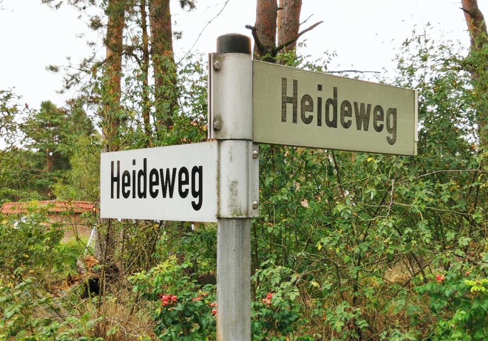 Der Heideweg in Grußendorf soll ausgebaut werden.