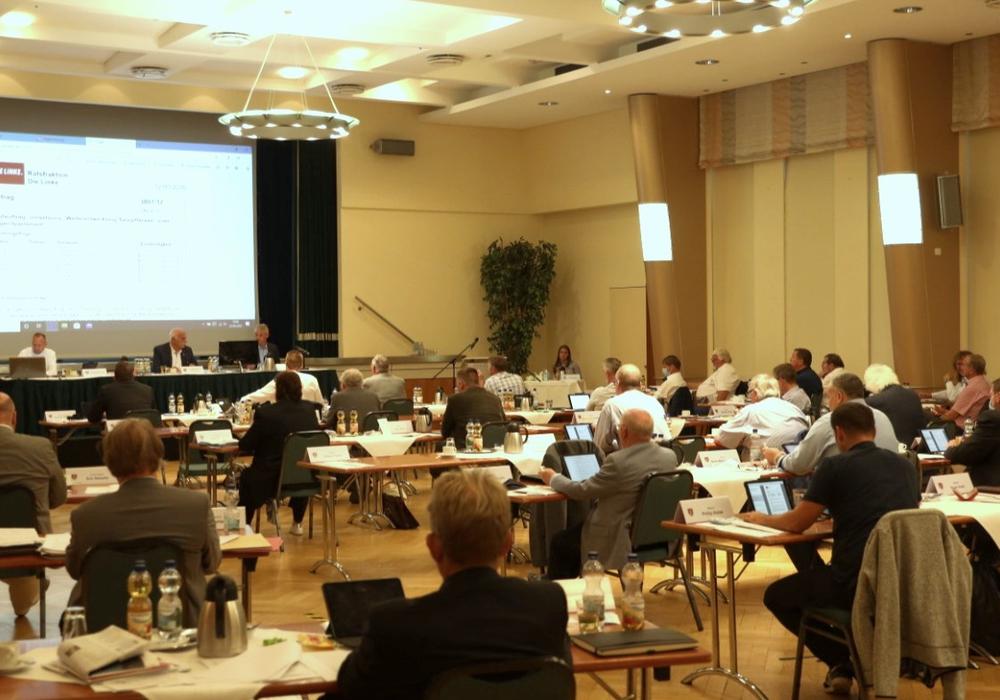 Die Ratssitzung vom gestrigen Mittwoch im Hotel am See in Salzgitter