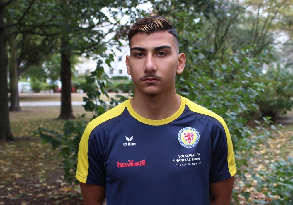 Seyyid Görgülü will es bei der Eintracht schaffen.