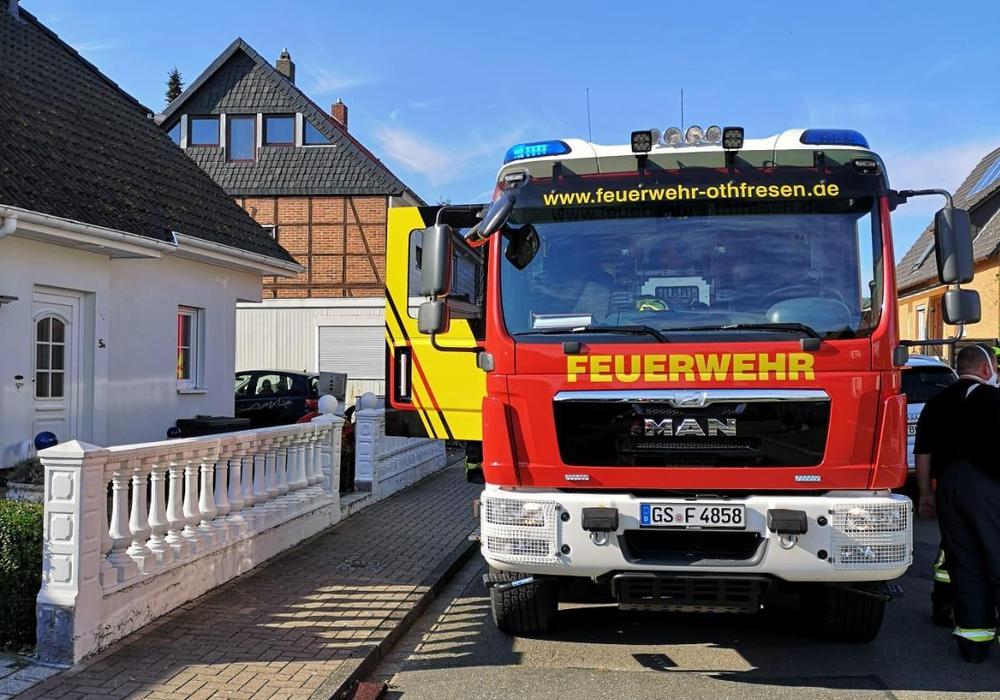 Das Hilfeleistungslöschgruppenfahrzeug aus Othfresen hatte das passende Werkzeug an Bord.