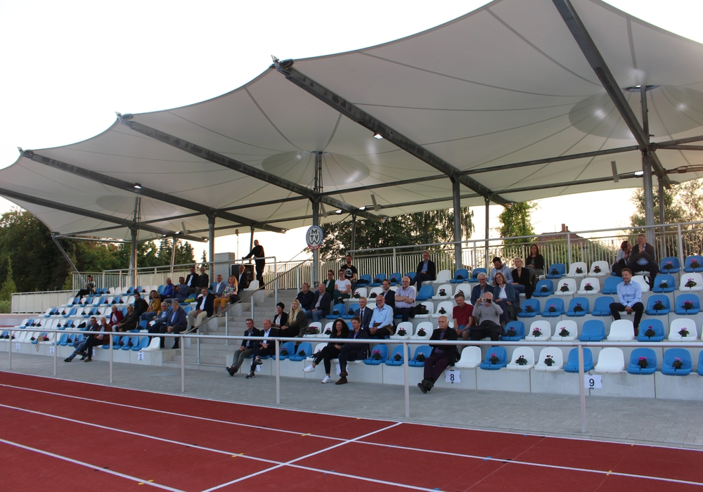Die Zuschauer im Sportpark Meesche sollen sich sicher fühlen.