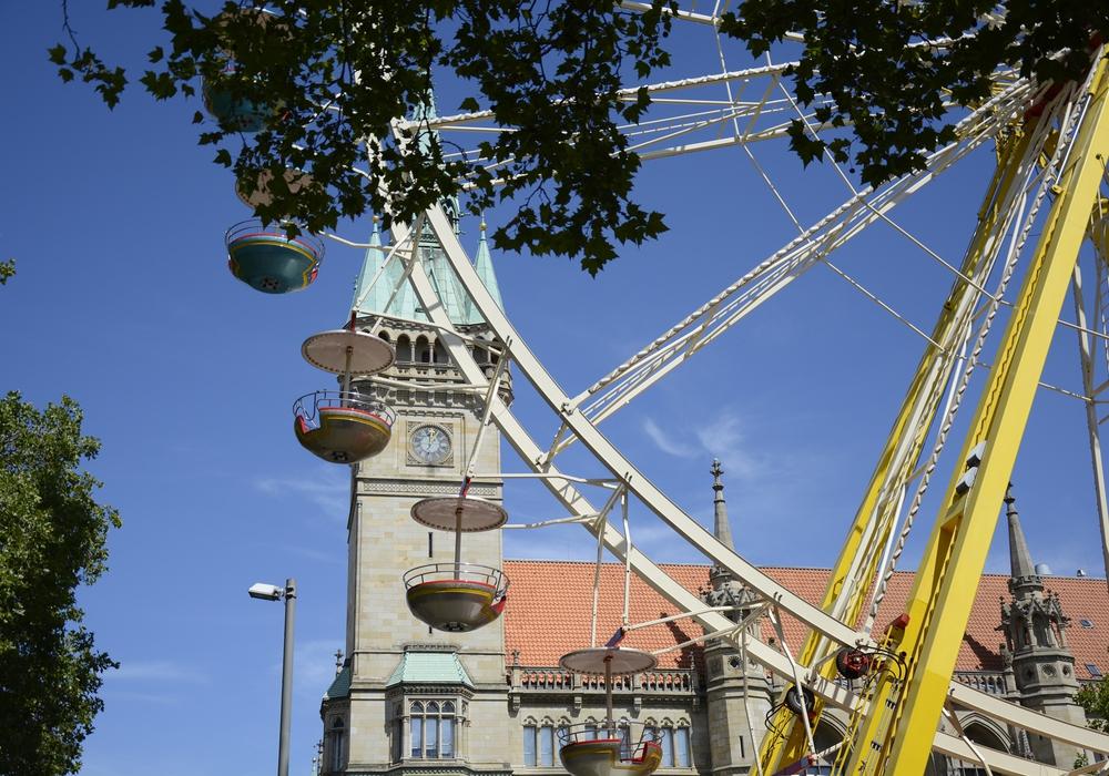 Noch bis Sonntag gibt es in der Braunschweiger Innenstadt Fahr- und Spielspaß beim stadtsommervergnügen.