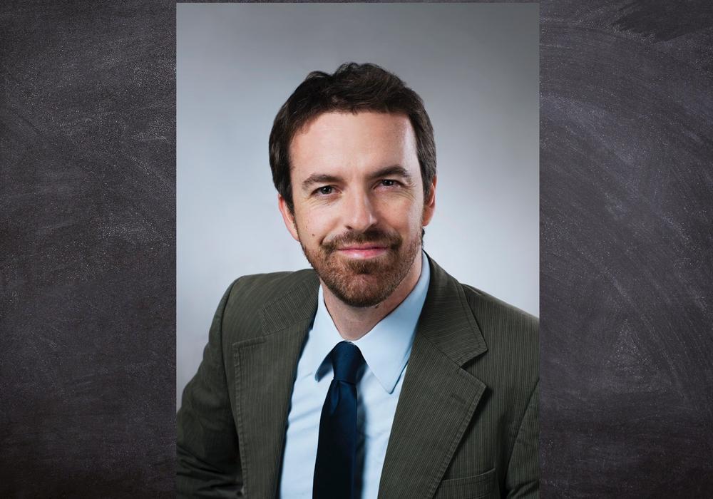 Der Preisträger und Projektleiter Dr. Holger Großhans.