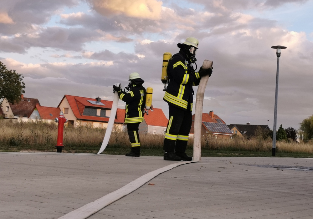 Die Kameraden der Feuerwehr Sickte musste zur Leistungsüberprüfung antreten.