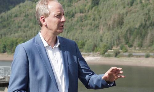 Dr. Christoph Donner, Technischer Geschäftsführer der Harzwasserwerke.