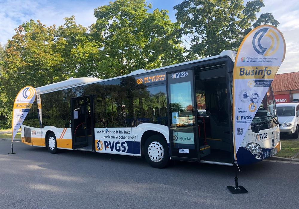 Seit September fährt die Landesbuslinie 300 zwischen dem Altmarkkreis Salzwedel und Wolfsburg.