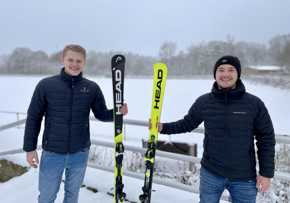 Maximilian Mitschke und Bastian Düfer leiten die neue Abteilung.