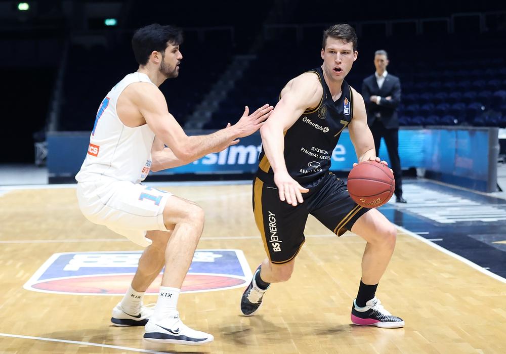 Die Basketball Löwen Braunschweig spielen am Freitag und Sonntag. Archivbild