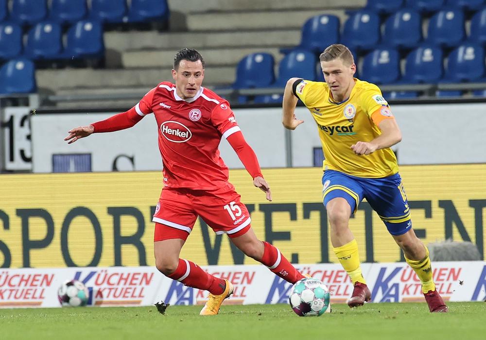 Eintracht Braunschweig und Fortuna Düsseldorf lieferten sich einen harten Fight.