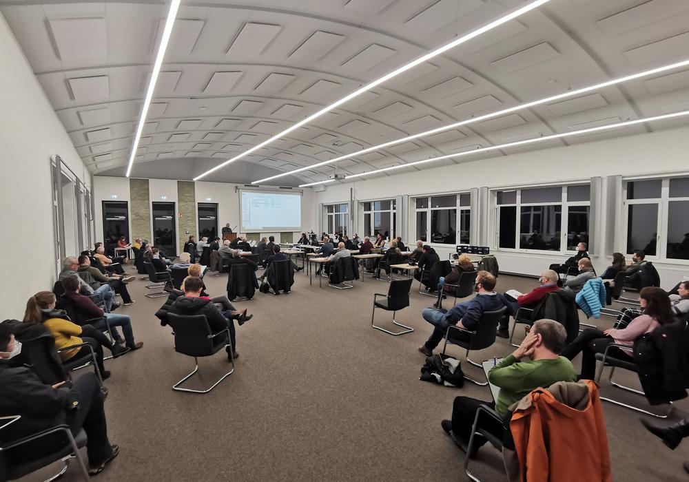 Ein Bauausschuss im GoTEC in Goslar. (Archivbild)