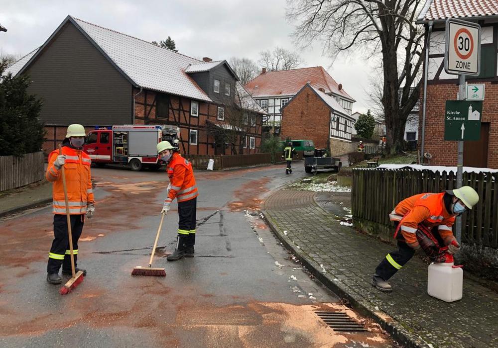 Die Feuerwehr hatte einiges zu tun.