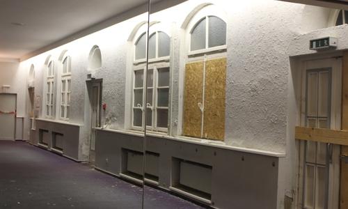 Besonders auf Seiten der Tappenstraße haben Verfall und Vandalismus ihre Spuren hinterlassen.