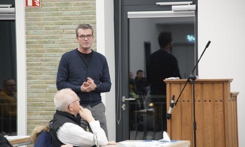 Investor Dirk Felsmann bei einer Sitzung des Bauausschusses in Goslar. Den Investoren Meinhof und Felsmann gehören auch etliche Altbauten auf dem Fliegerhorst.
