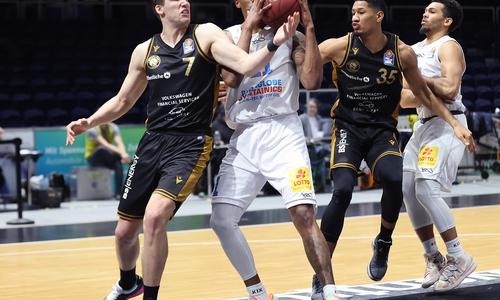 Die Basketball Löwen mussten sich mit einer Niederlage geschlagen geben.