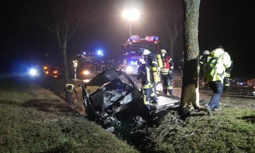 Auf der L495 kam es am Sonntag zu einem tödlichen Unfall.