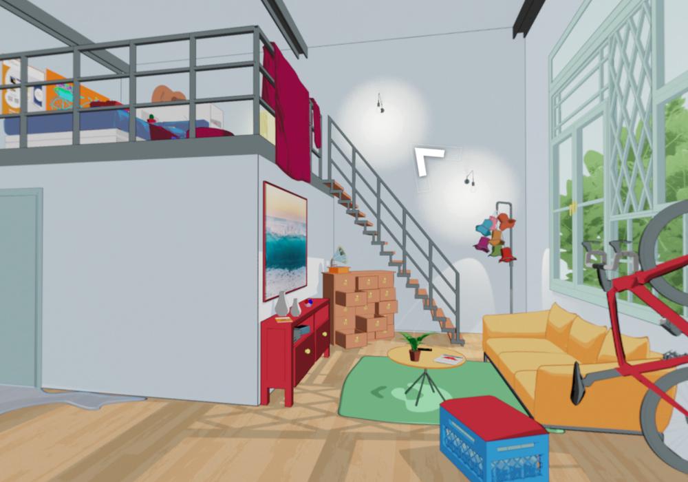 Im Point-and-Click Format können sich Spieler über Katastrophenschutz in den eigenen vier Wänden informieren.