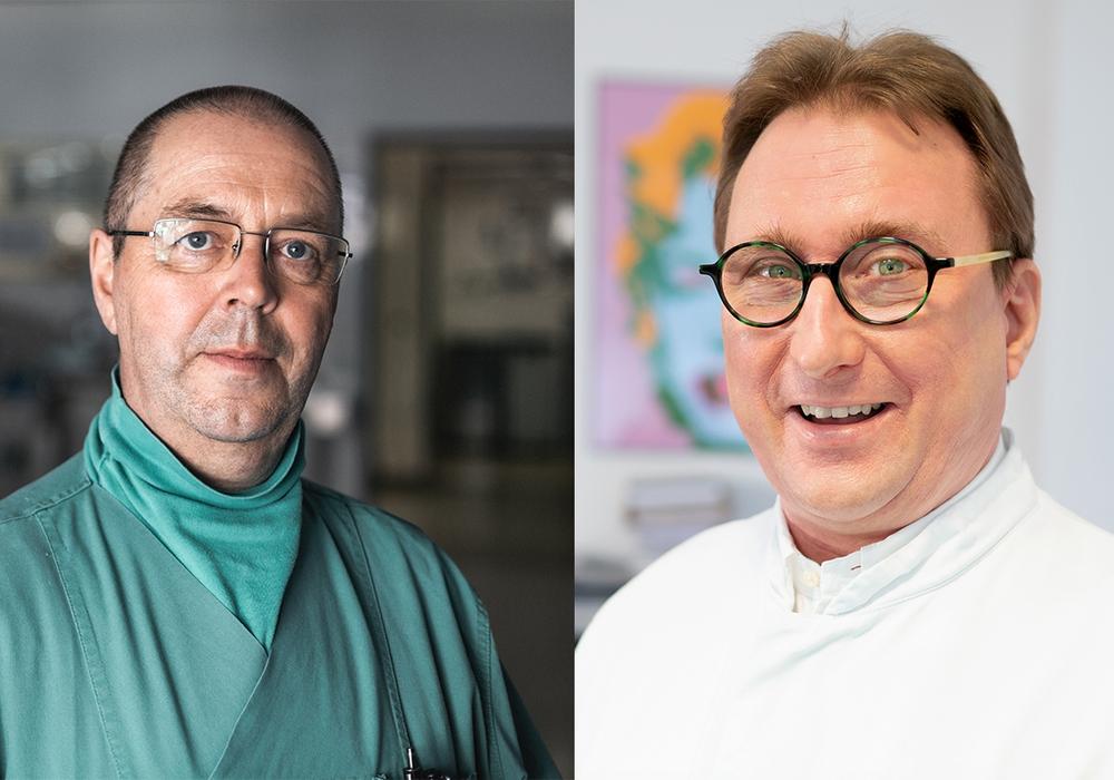 Prof. Dr. Peter Werning (Chefarzt für Anästhesiologie) und Prof. Dr. Jan T. Kielstein (Chefarzt der Nephrologie, Blutreinigung und Rheumatologie) beantworten live Ihre Fragen.