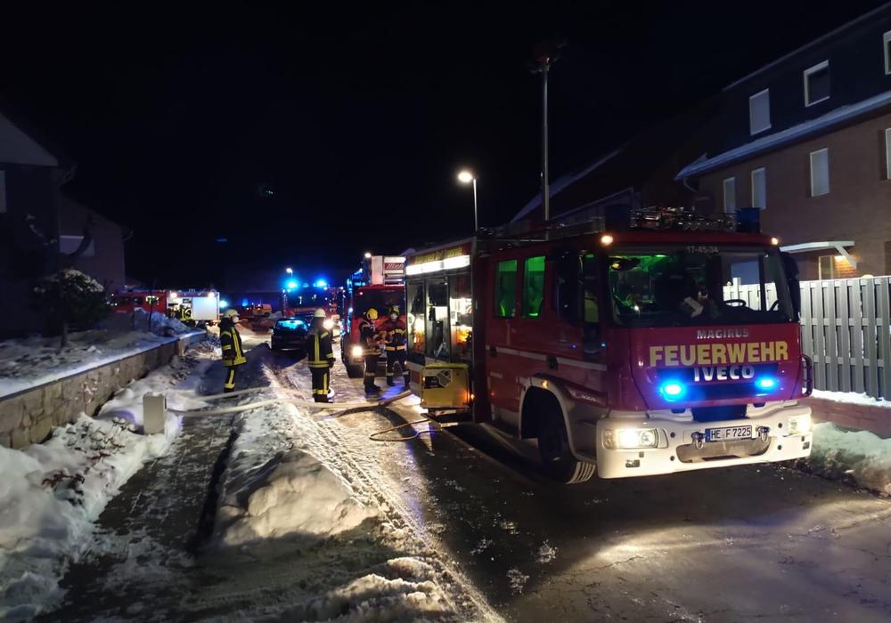 In der Nacht musste die Feuerwehr zu einem Küchenbrand anrücken.