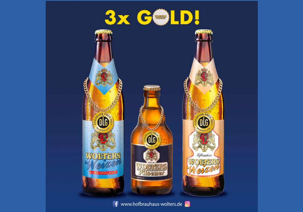 Die Biere des Hofbrauhaus Wolters wurden ausgezeichnet.