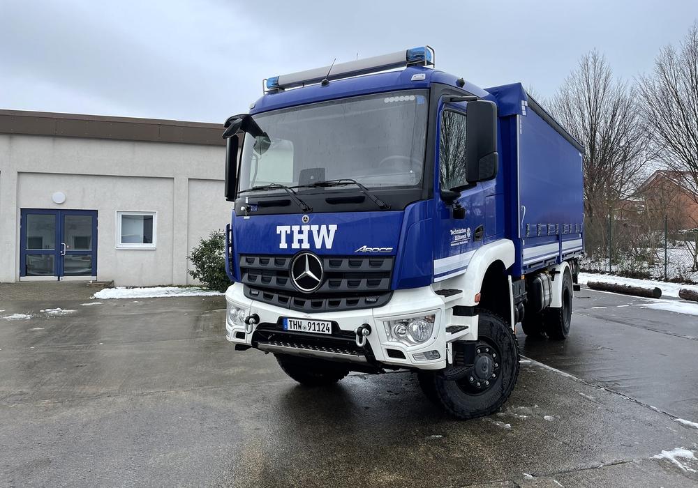 Das neue Fahrzeug ist der Fachgruppe Trinkwasserversorgung zugeteilt.
