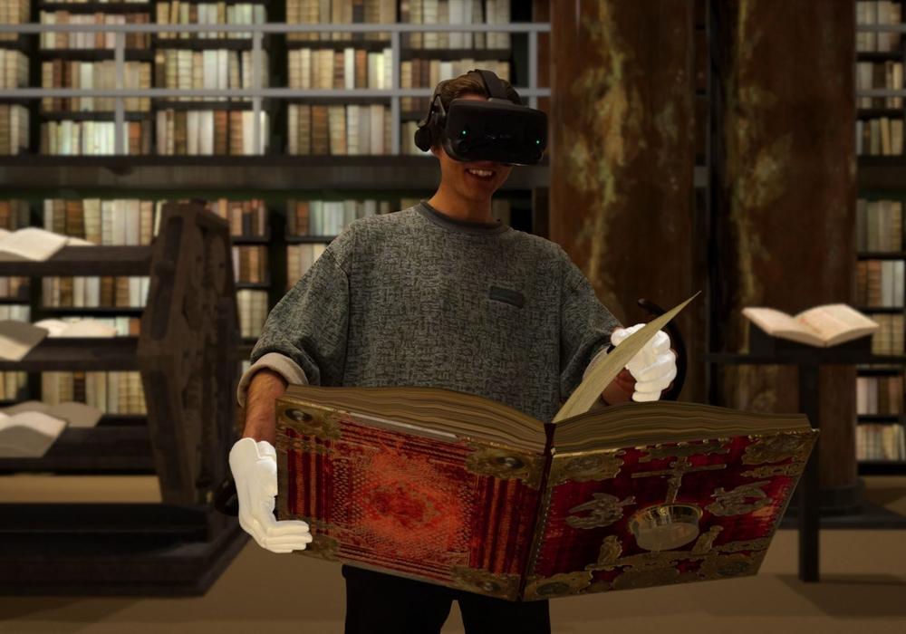 """Die virtuelle und interaktive Bibliothek """"Herzog VR August"""""""