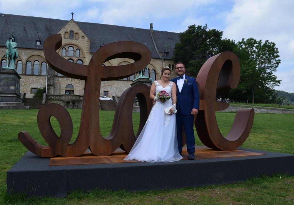 Die Goslarer Kaiserpfalz ist nach wie vor der beliebteste Ort für Trauungen – auch ohne die Love-Hate-Skulptur.
