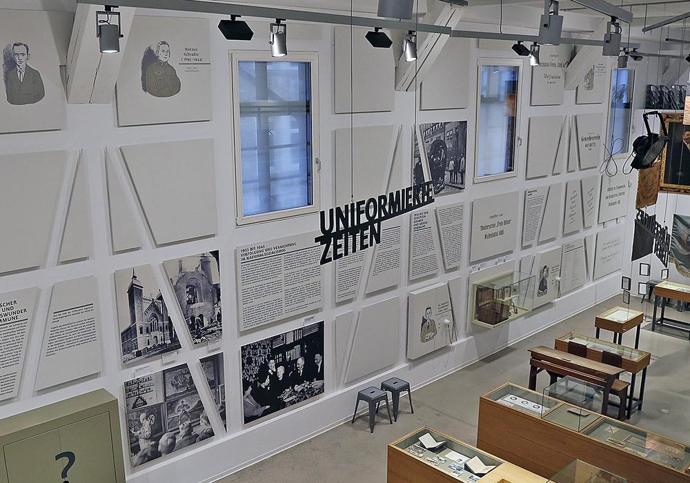 Ein Blick in die neugestaltete Ausstellung.