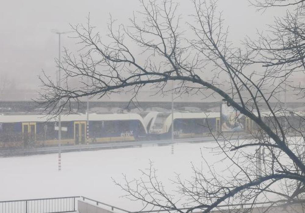 Hier stehen die Züge still. Symbolbild
