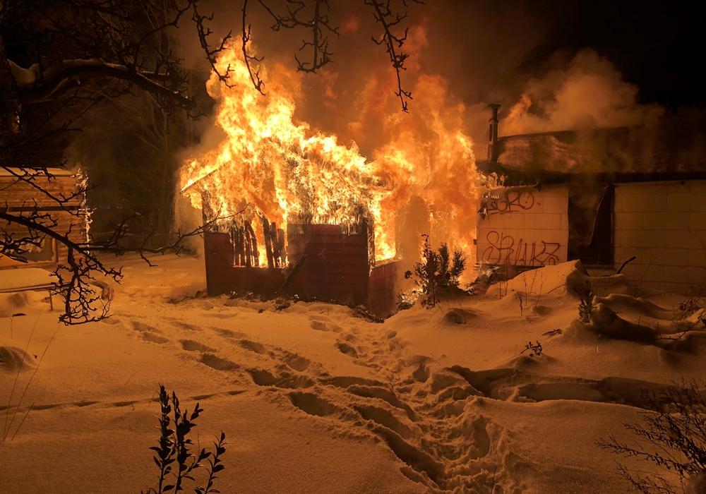Die Feuerwehr sah sich mit einer schwierigen Situation konfrontiert.