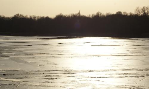 Die leichte Eisschicht spielte mit dem Sonnenlicht und ließ das Fotografen-Herz ordentlich pulsieren.