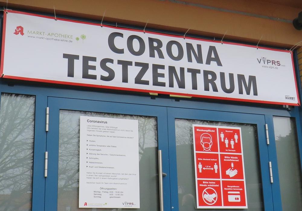 Testzentrum in Flechtorf